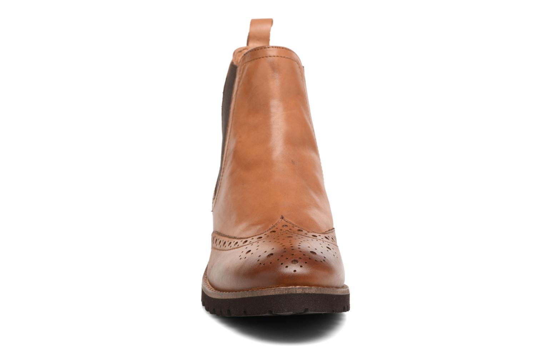 Bottines et boots Kickers WILOW Marron vue portées chaussures