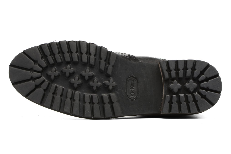 Bottines et boots Kickers WILOW Noir vue haut