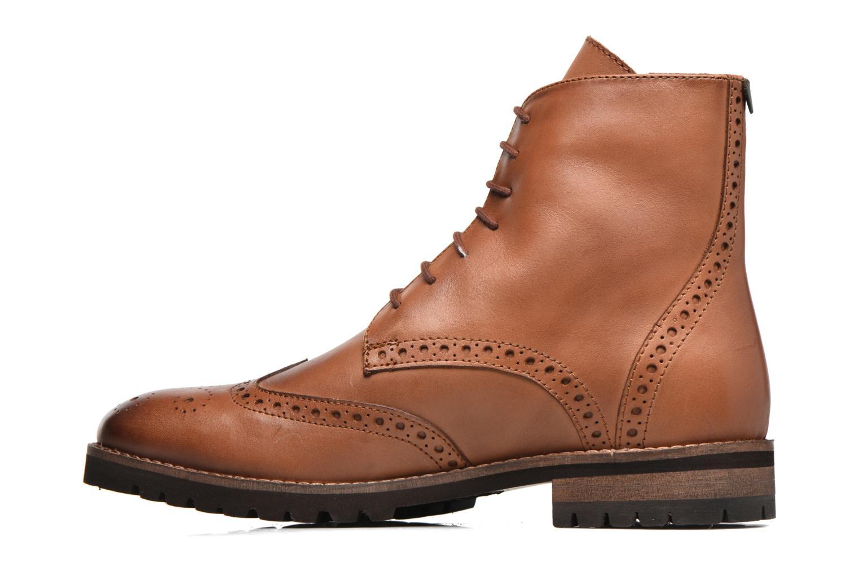 Bottines et boots Kickers WILS Marron vue face