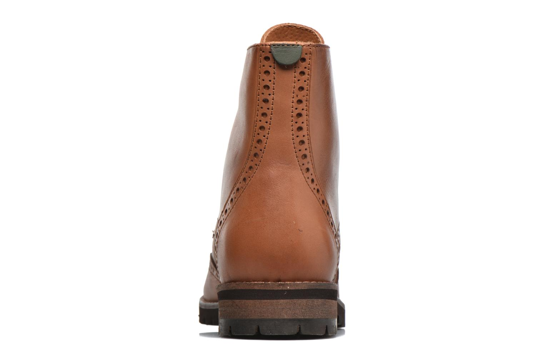 Bottines et boots Kickers WILS Marron vue droite