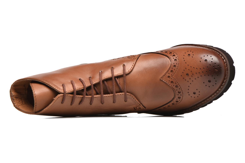 Bottines et boots Kickers WILS Marron vue gauche