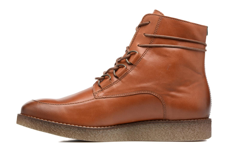 Bottines et boots Kickers ZENHIT Marron vue face