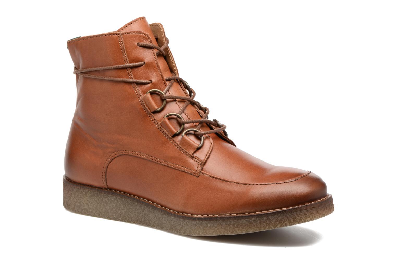Bottines et boots Kickers ZENHIT Marron vue détail/paire