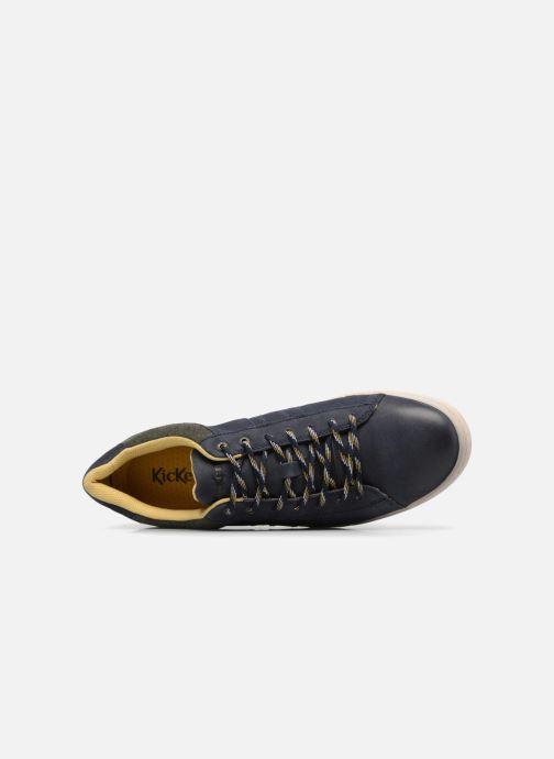 Sneakers Kickers CHRISTO Blå se fra venstre