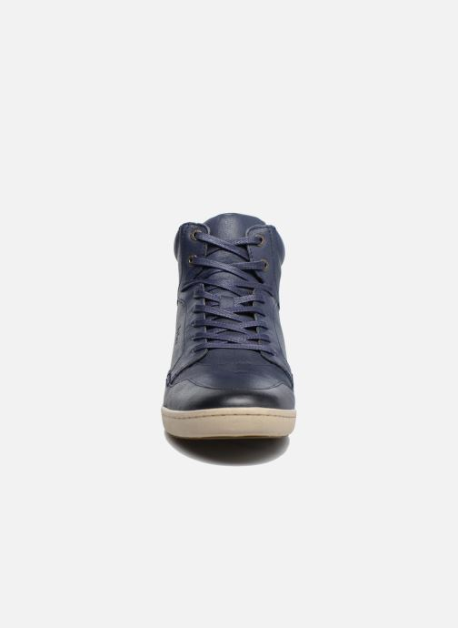 Baskets Kickers CROSSOVER Bleu vue portées chaussures
