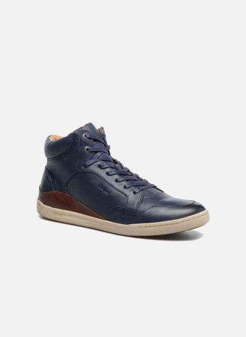 Baskets Kickers CROSSOVER Bleu vue détail/paire