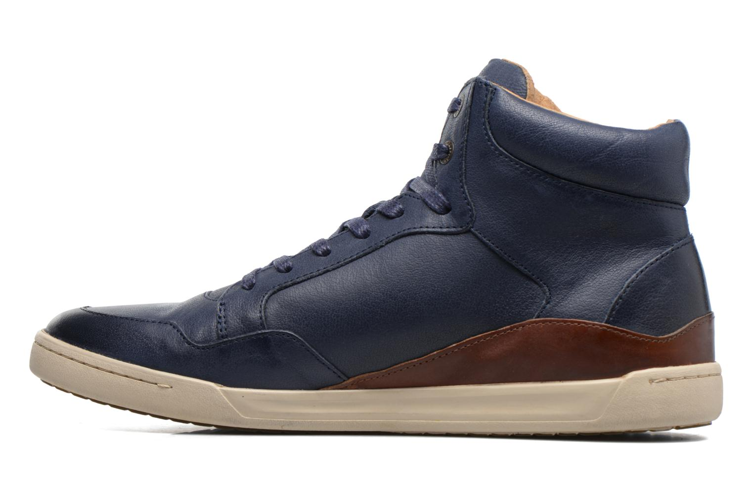 Sneakers Kickers CROSSOVER Azzurro immagine frontale