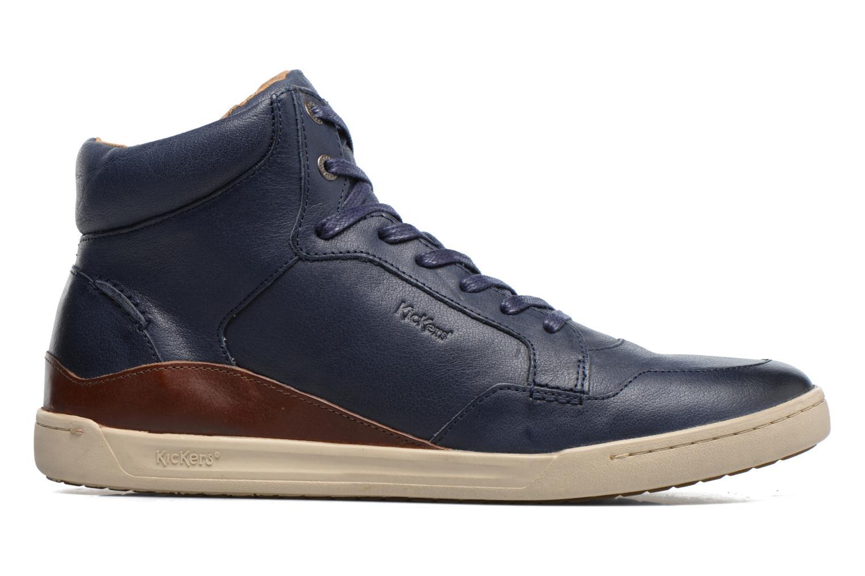 Sneakers Kickers CROSSOVER Blauw achterkant