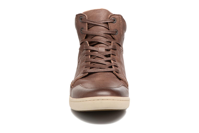 Sneakers Kickers CROSSOVER Marrone modello indossato