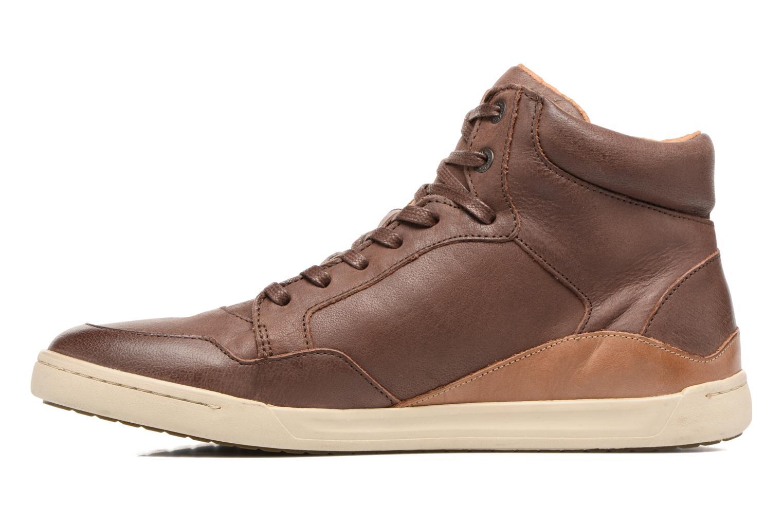 Sneakers Kickers CROSSOVER Marrone immagine frontale