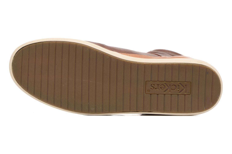 Sneakers Kickers CROSSOVER Marrone immagine dall'alto