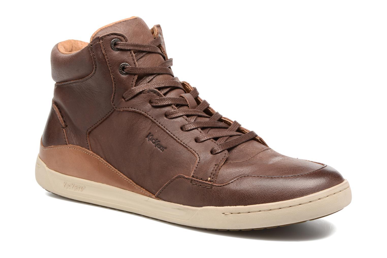Sneakers Kickers CROSSOVER Marrone vedi dettaglio/paio