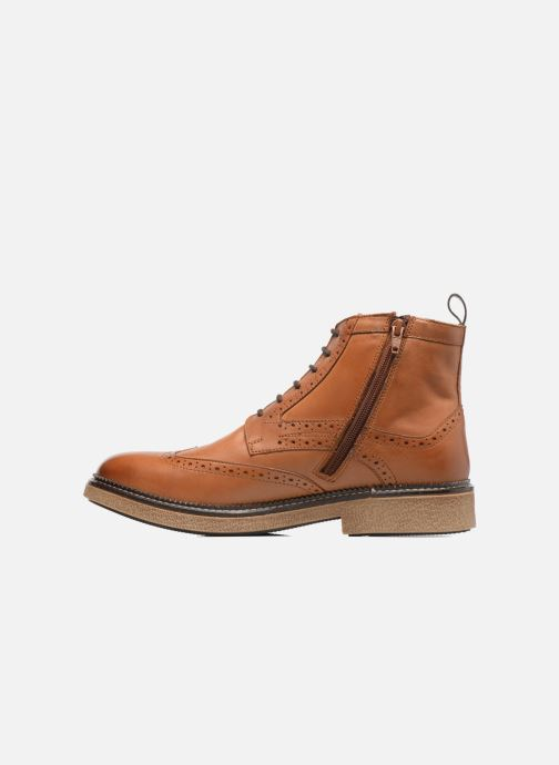 Bottines et boots Kickers FORTINO Marron vue face