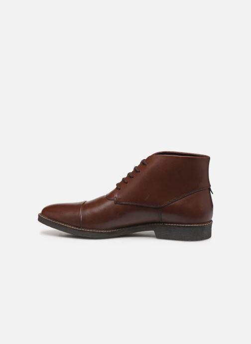 Bottines et boots Kickers MATEO Marron vue face