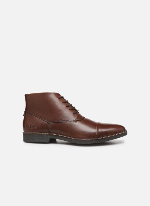 Bottines et boots Kickers MATEO Marron vue derrière