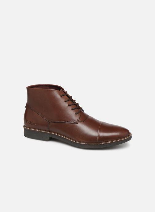 Bottines et boots Kickers MATEO Marron vue détail/paire