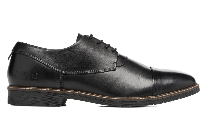 Chaussures à lacets Kickers MATYS Noir vue derrière