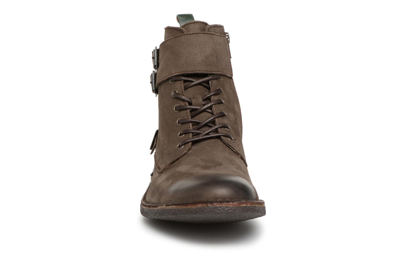 Bottines et boots Kickers MIST RACK Marron vue portées chaussures