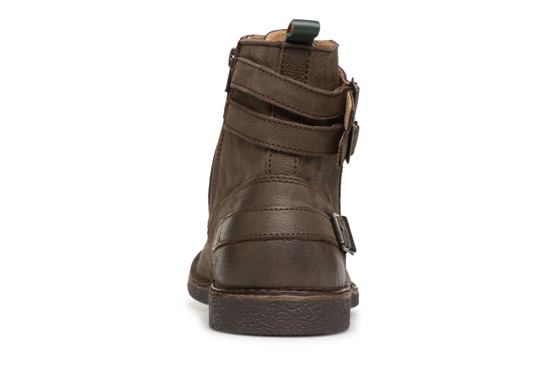 Bottines et boots Kickers MIST RACK Marron vue droite