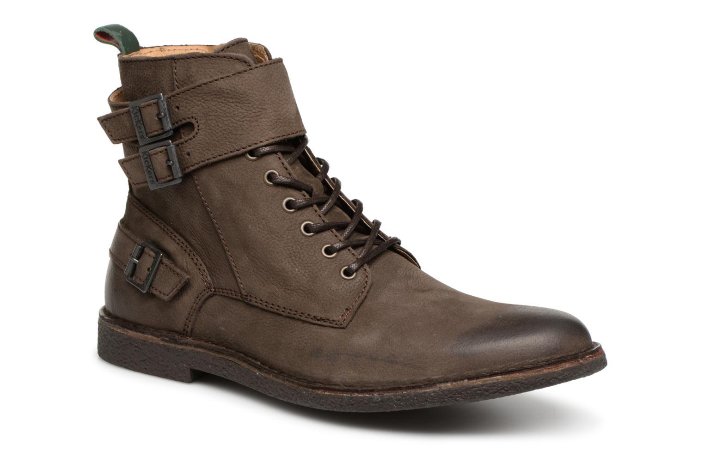 Bottines et boots Kickers MIST RACK Marron vue détail/paire