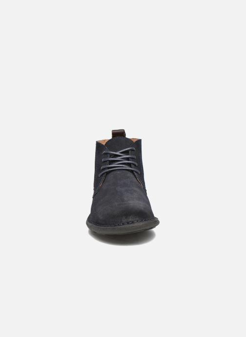 Chaussures à lacets Kickers SWIRATAN Bleu vue portées chaussures