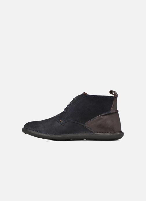 Chaussures à lacets Kickers SWIRATAN Bleu vue face