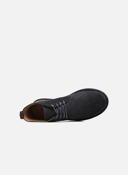 Scarpe con lacci Kickers SWIRATAN Azzurro immagine sinistra