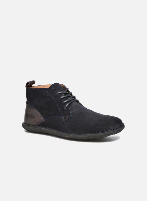 Chaussures à lacets Kickers SWIRATAN Bleu vue détail/paire