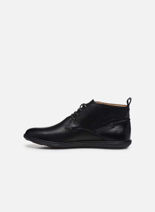 Zapatos con cordones Kickers SWIRATAN Negro vista de frente