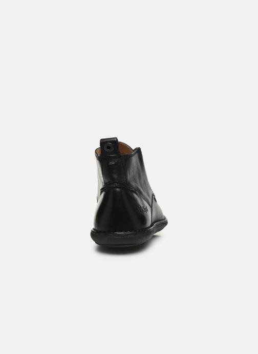 Zapatos con cordones Kickers SWIRATAN Negro vista lateral derecha