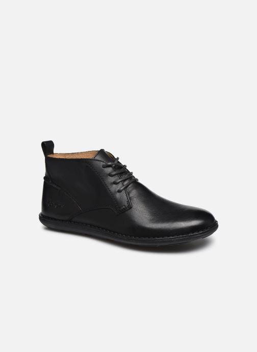 Zapatos con cordones Kickers SWIRATAN Negro vista de detalle / par