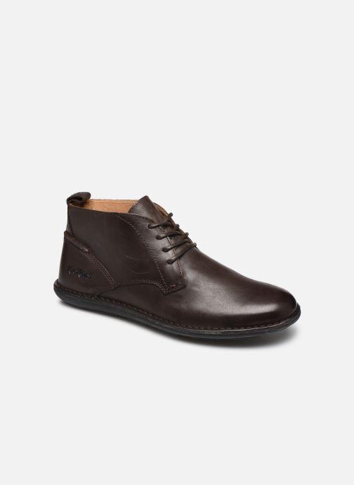 Zapatos con cordones Kickers SWIRATAN Marrón vista de detalle / par