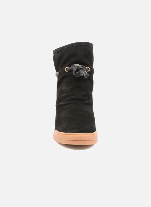 Bottines et boots Shoe the bear Line Noir vue portées chaussures