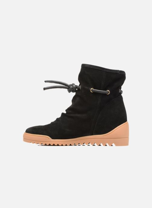 Ankle boots Shoe the bear Line Black front view