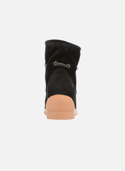Ankle boots Shoe the bear Line Black view from the right