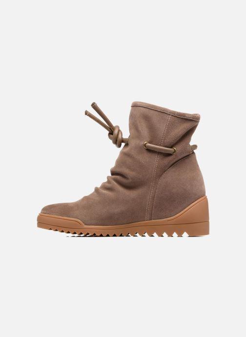 Boots en enkellaarsjes Shoe the bear Line Beige voorkant