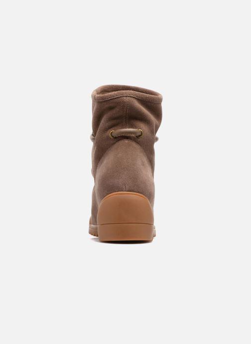 Bottines et boots Shoe the bear Line Beige vue droite