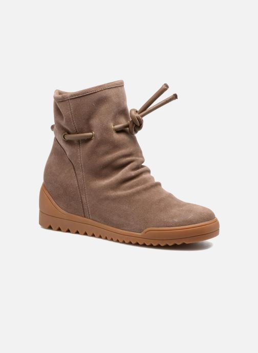 Boots en enkellaarsjes Shoe the bear Line Beige detail