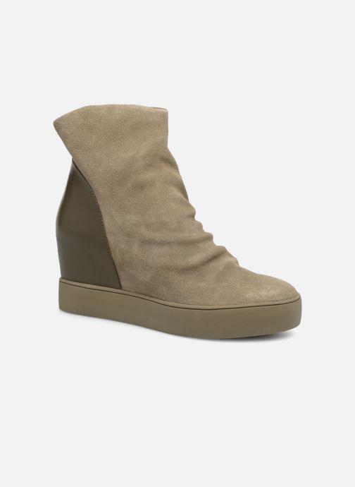 Bottines et boots Shoe the bear Trish Vert vue détail/paire
