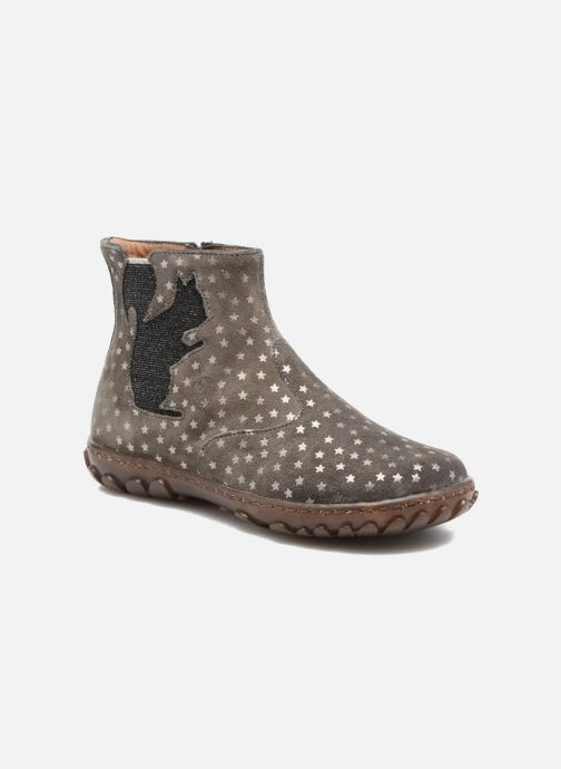 Bottines et boots Pom d Api Cute Squirrel Gris vue détail/paire