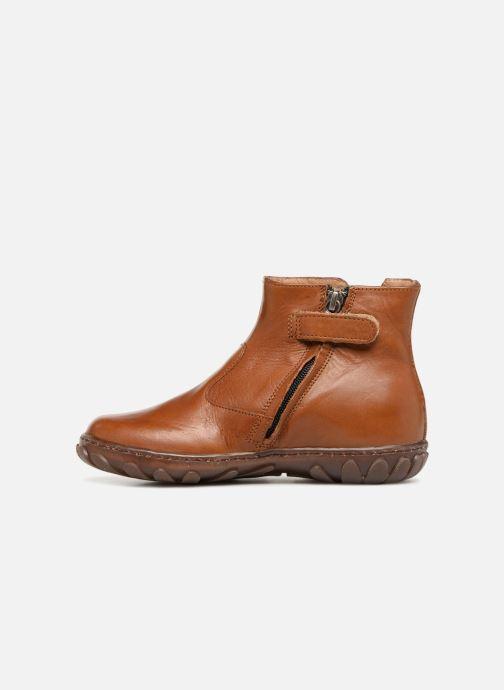 Bottines et boots Pom d Api Cute Squirrel Marron vue face