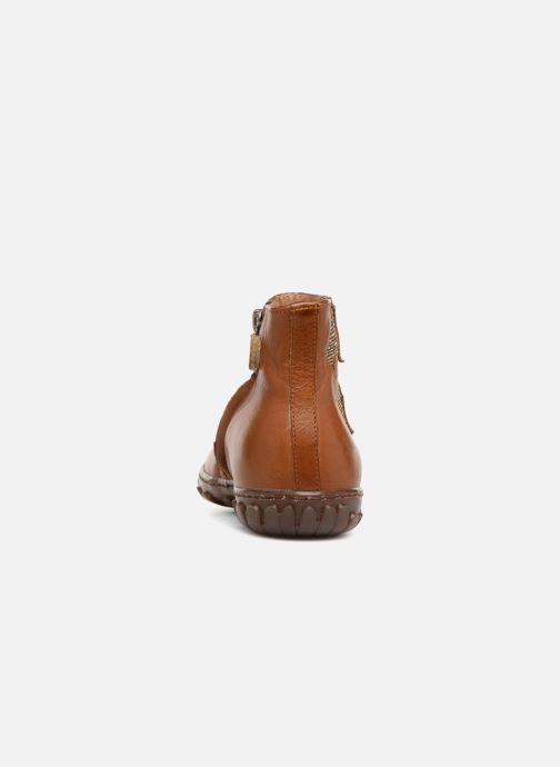 Bottines et boots Pom d Api Cute Squirrel Marron vue droite