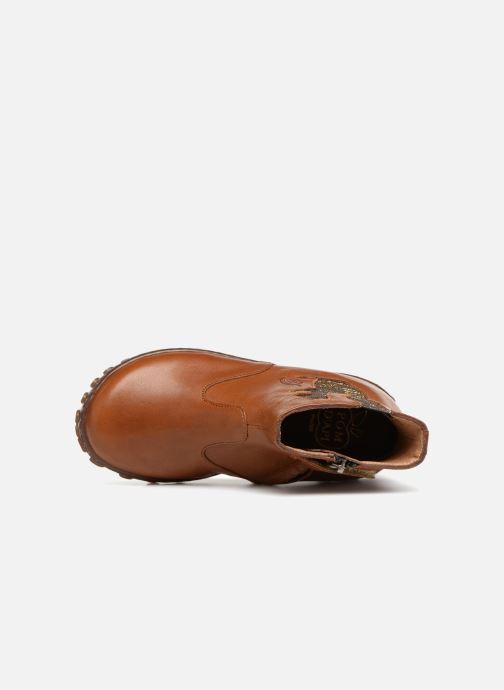 Bottines et boots Pom d Api Cute Squirrel Marron vue gauche