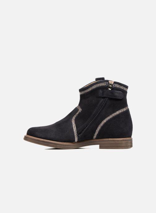 Boots en enkellaarsjes Pom d Api Hobo Glitter Blauw voorkant