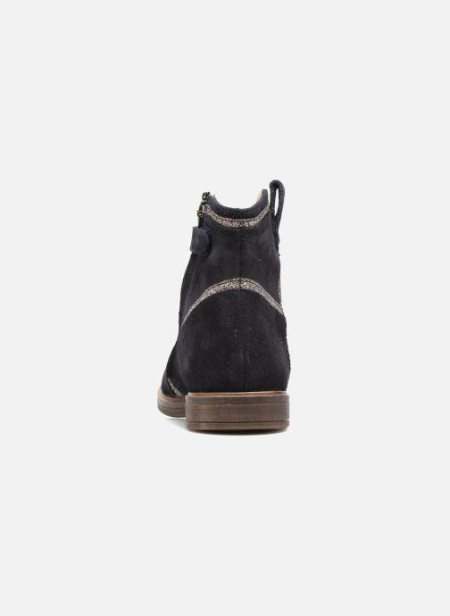 Boots en enkellaarsjes Pom d Api Hobo Glitter Blauw rechts