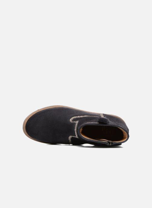 Bottines et boots Pom d Api Hobo Glitter Bleu vue gauche