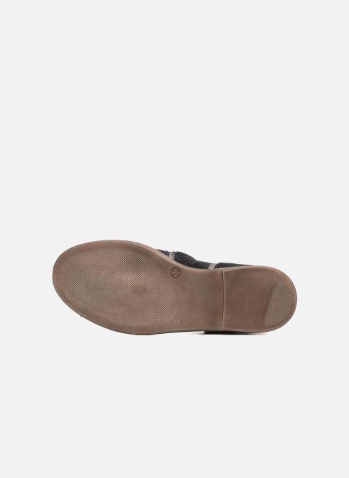 Boots en enkellaarsjes Pom d Api Hobo Glitter Blauw boven