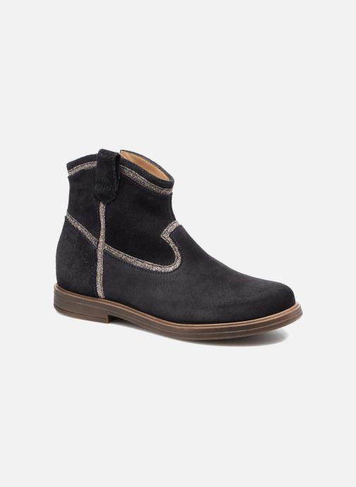 Bottines et boots Pom d Api Hobo Glitter Bleu vue détail/paire