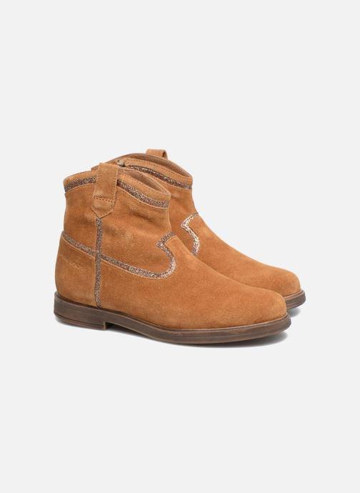 Boots en enkellaarsjes Pom d Api Hobo Glitter Bruin 3/4'