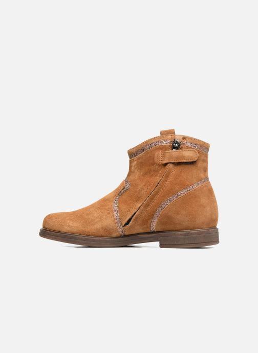 Boots en enkellaarsjes Pom d Api Hobo Glitter Bruin voorkant